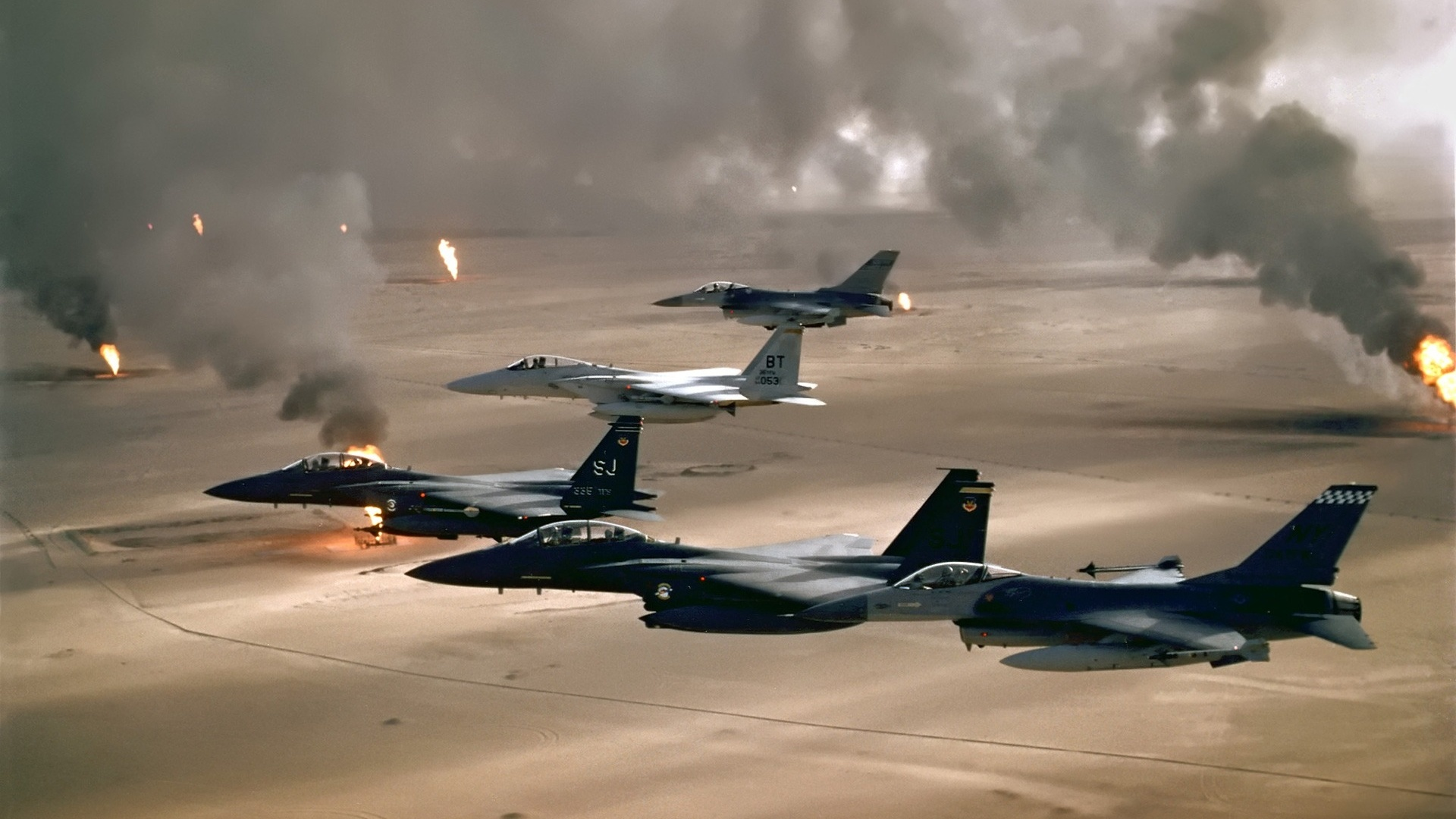 the role of oil in the gulf conflicts of the 1990s Modern conflicts: conflict profile iraq - kuwait (1990 for exceeding its oil production quota set as the gulf war ended.