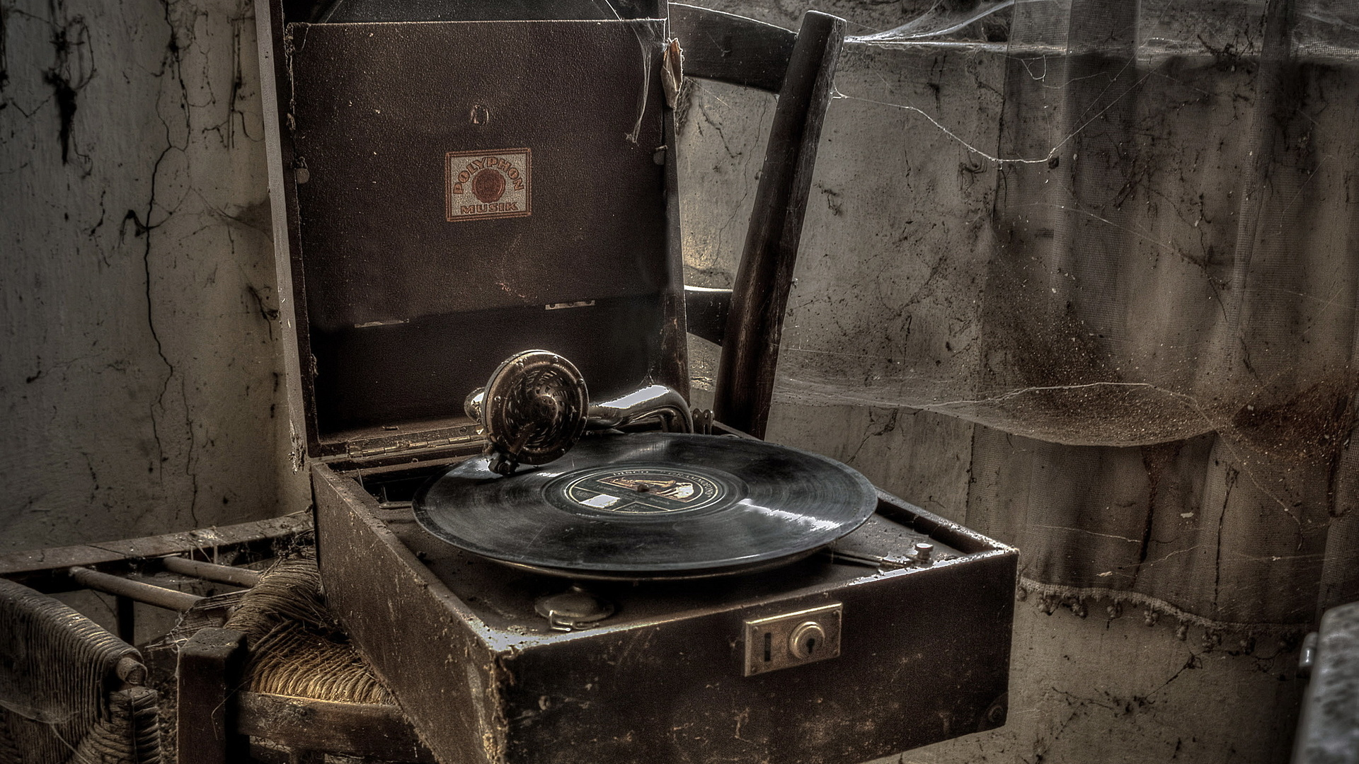 Download wallpaper old gramophone 1920x1080 the wallpapers photos - Walpepar photos ...