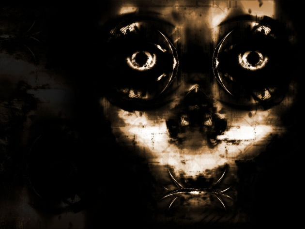 Wallpaper Gothic face