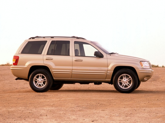 Wallpaper Jeep Grand Cherokee 2001