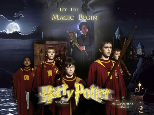 Wallpaper Harry Potter And The Philosophers Sorcerers