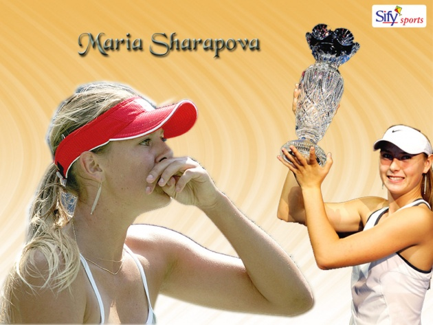 Wallpaper Maria Sharapova