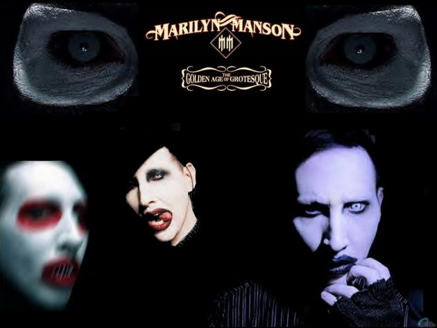 Wallpaper Marilyn Manson The Golden Age Of Grotesque