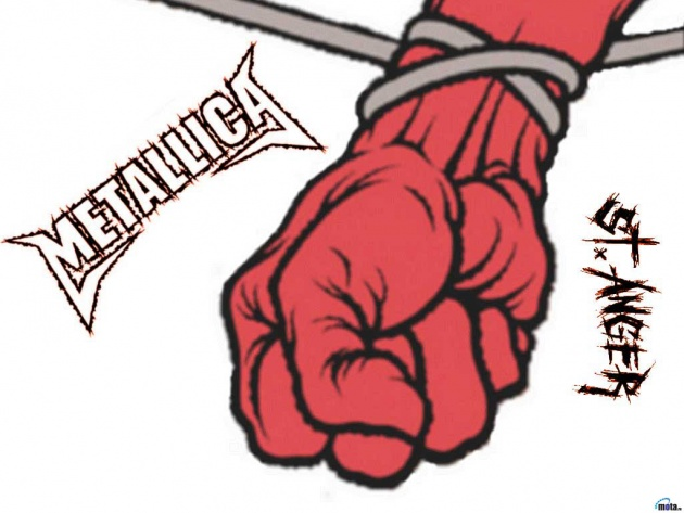 Wallpaper St. Anger album (Metallica)