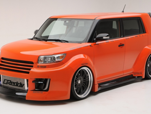 Wallpaper 2009 Scion xB Tuner
