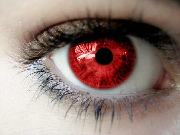 Wallpaper Red pupil