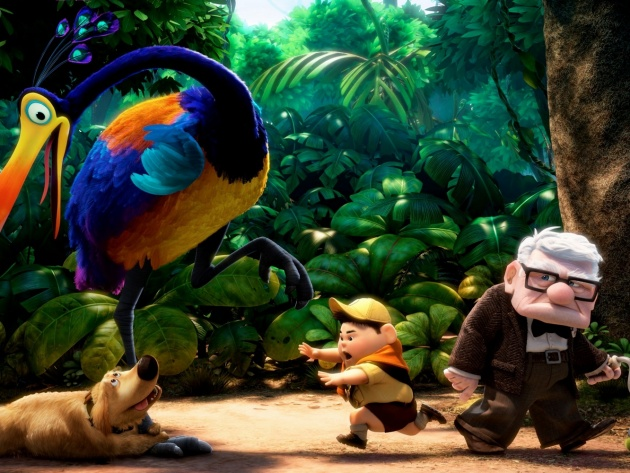 Wallpaper Carl Fredricksen from Up cartoon