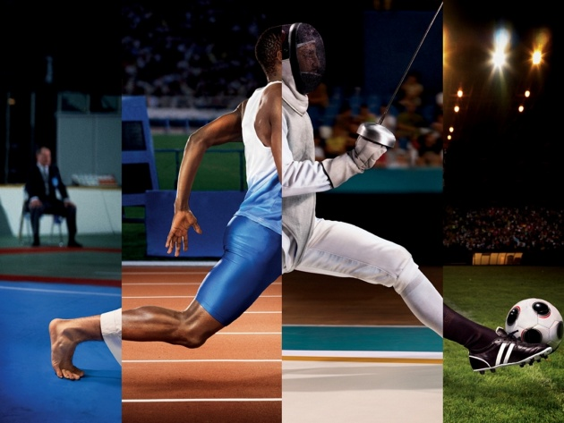Wallpaper Sports Collage