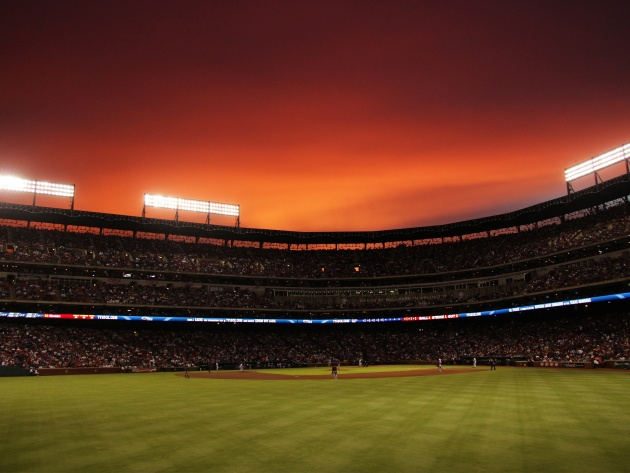 Wallpaper Rangers Ballpark in Arlington, Texas