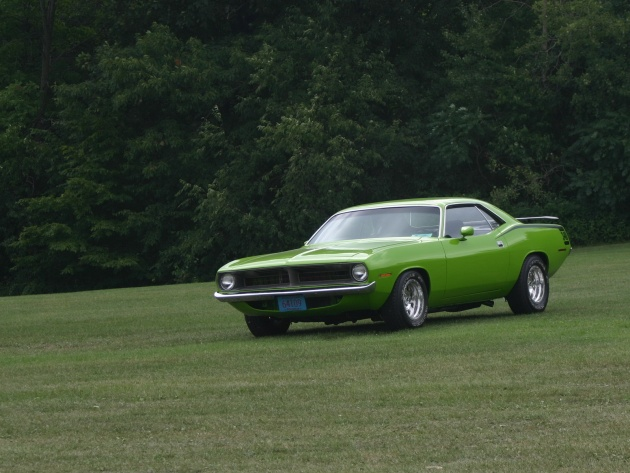 Wallpaper 1973 Plymouth Barracuda 340