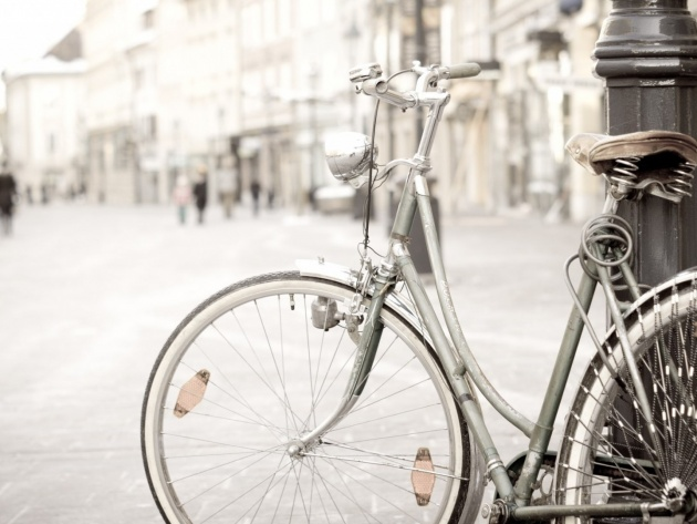 Wallpaper Old bicycle