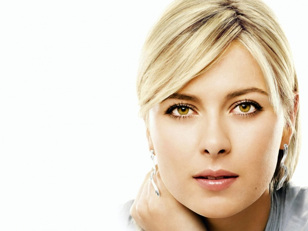 Wallpaper Tender glance by Maria Sharapova