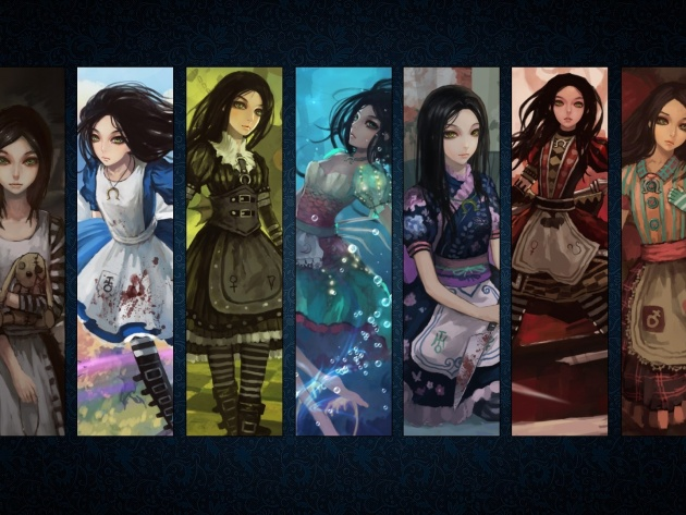 Wallpaper Game Alice: Madness Returns