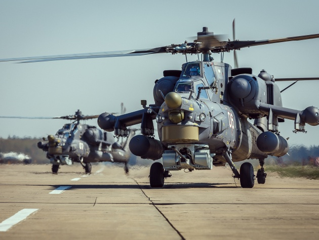 Wallpaper Attack helicopters Mi-28