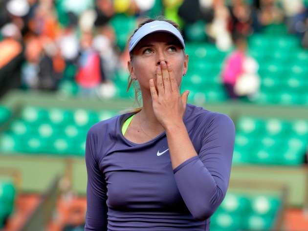 Wallpaper Maria Sharapova Kiss