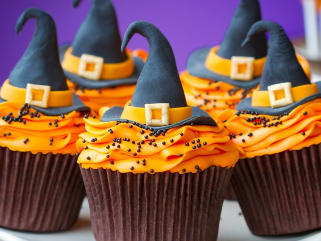 Wallpaper Cupcakes for Halloween