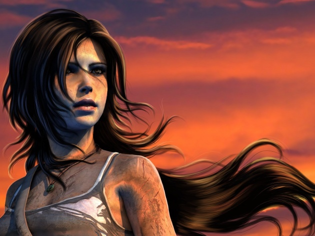 Wallpaper Lara Croft, Tomb Raider