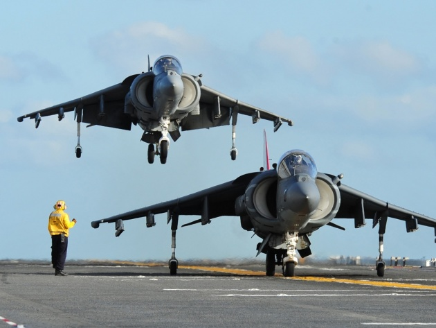 Wallpaper Attack aircraft McDonnell Douglas AV-8B Harrier II