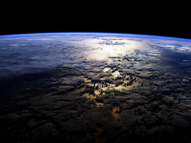 Wallpaper Earth from Space
