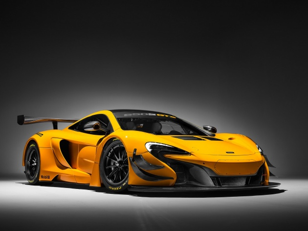 Wallpapers McLaren 650S GT3