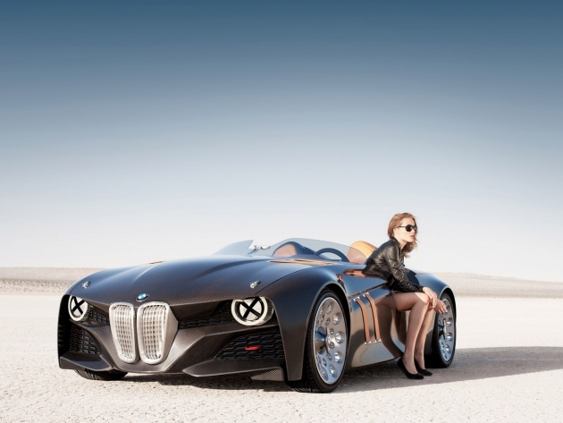 Wallpaper BMW 328 Hommage
