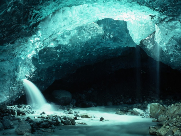 Wallpaper Ice Cave