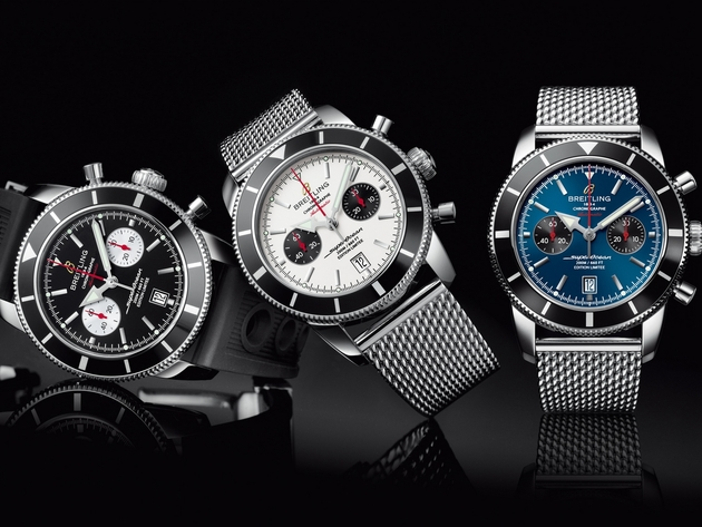Wallpaper watch, breitling, breitling superocean heritage chronograph 44, breitling superocean