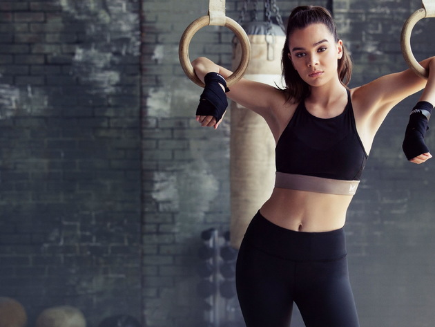 Wallpaper actress, sport, girl, gymnast, ring, hailee steinfeld, leggings