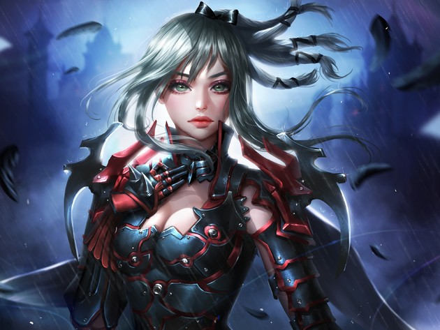 Le papier peint final fantasy, la jeune fille, fantastique, final fantasy xv, aranea highwind, aranea