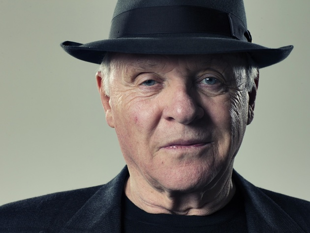Wallpapers schauspieler, gesicht, anthony hopkins, hut, porträt