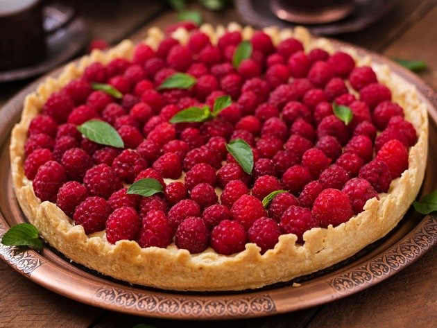 Wallpaper pie, cake, raspberry