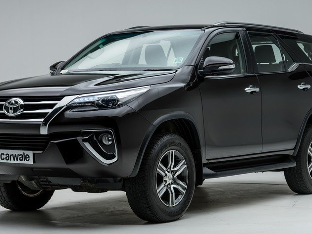 Wallpaper Toyota Black Car Fortuner Photo Wallpaper Desktop