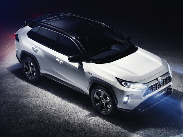 Wallpaper toyota, toyota rav4, tuning, toyota rav4 hybrid, the white car, 2019 toyota rav4 hybrid