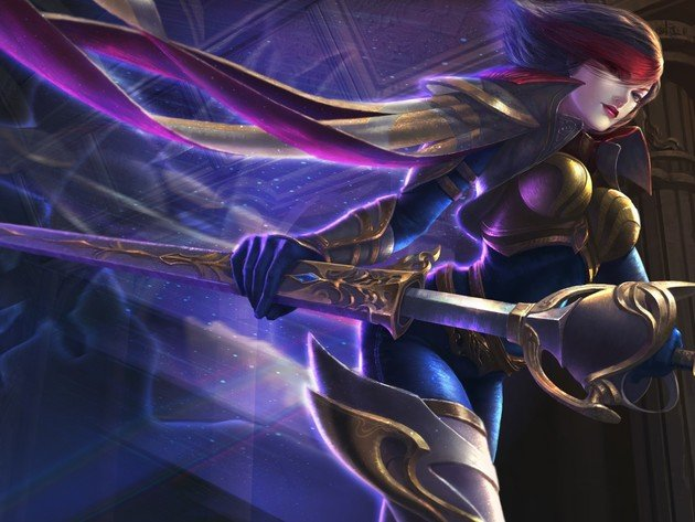 Wallpaper sword, league of legends, lol, fiora