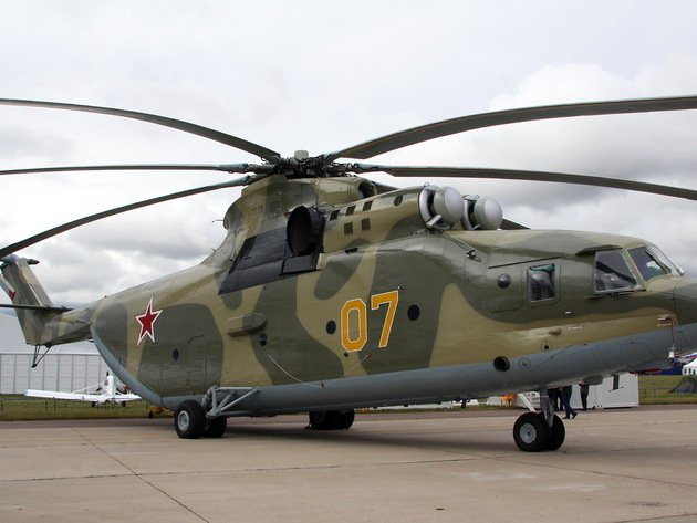 Wallpaper helicopter, the airfield, mi-26