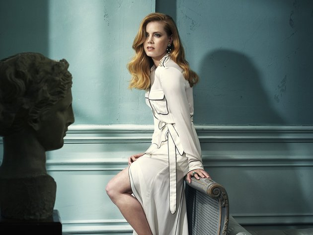 Wallpaper actress, girl, amy adams, coat