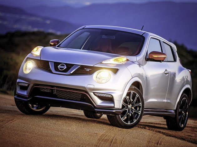 Wallpapers nissan, nissan juke, graue maschine