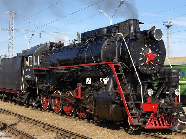 Wallpaper train, steam locomotive, steam locomotive l, l-2055