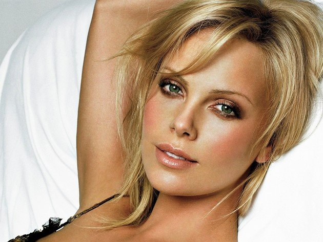 Wallpaper blonde, actress, girl, charlize theron, beauty