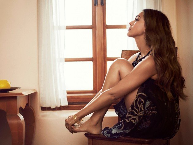 Wallpaper singer, brunette, jessica alba, girl, dress, legs