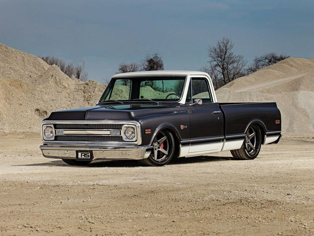 Wallpaper truck, tuning, gm, pro touring, 1969 chevrolet c10, chevrolet c10