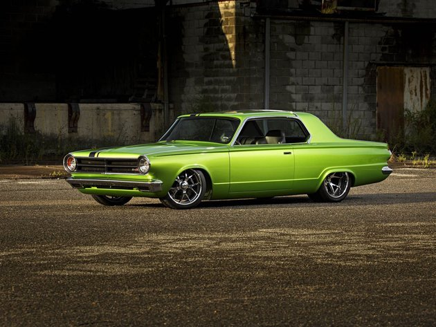 Wallpapers dodge, tuning, die grüne maschine, 1965 dodge dart, dodge dart