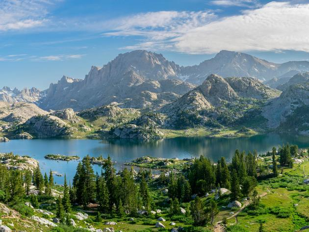 Wallpaper forest, lake, usa, mountains, california, sky, landscape