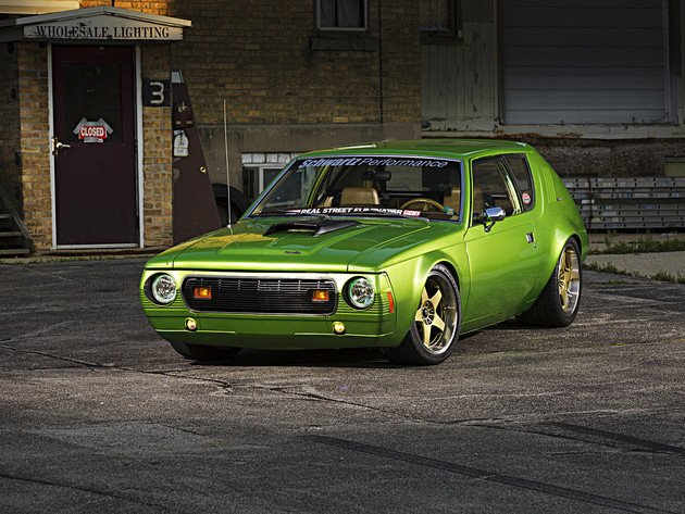 Wallpapers die grüne maschine, custom, amc gremlin, 1974 amc gremlin