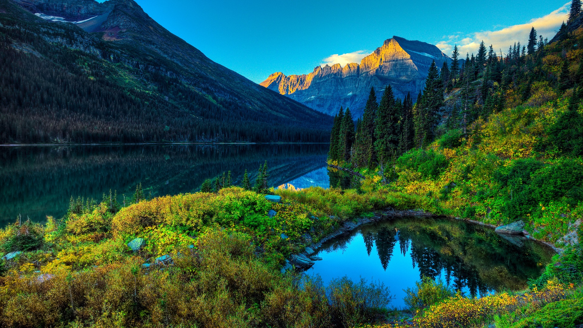 the beauty of the backwoods in my canadian getaway Join us on a bike tour in the canadian rockies bike in banff national park and visit stunning lake louise, moraine lake & bow summit.