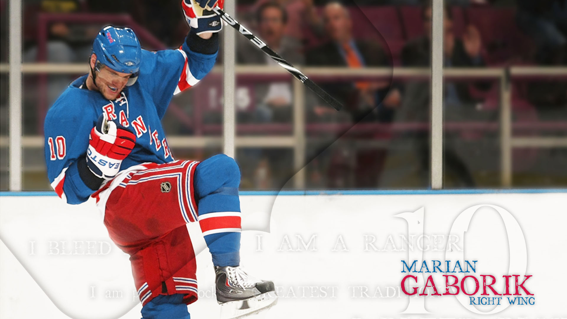 Wallpaper download Marian Gaborik (New York Rangers)