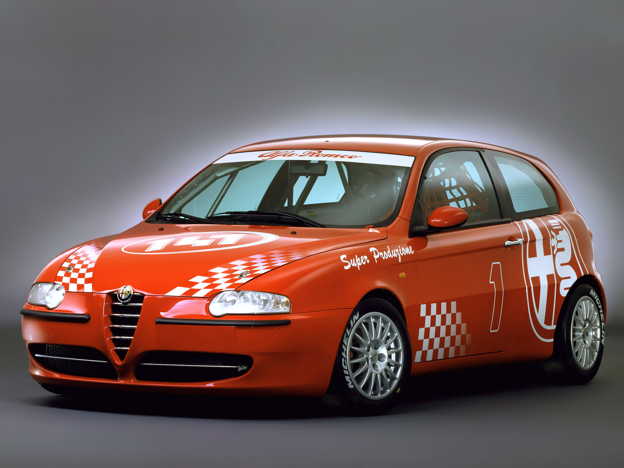 Download Wallpaper Alfa Romeo 147 2048x1536 Alfa Romeo 147